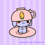 Bunny And Teacup