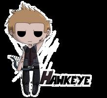 Hawkeye Chibi by SevBD