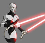 Asajj Ventress - work in progress