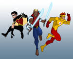 YOUNG JUSTICE - Founding Members