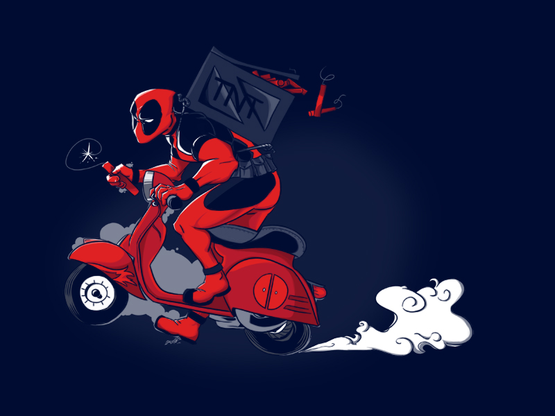 Deadpool by Splittingadams