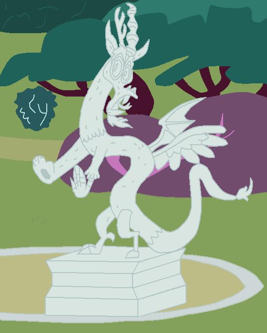 Discord Statue Complete By Discorddraconequus On Deviantart