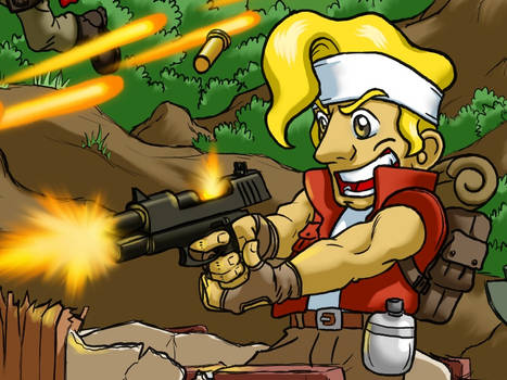 Metal Slug - Marco close up