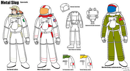 Metal Slug Spacesuits