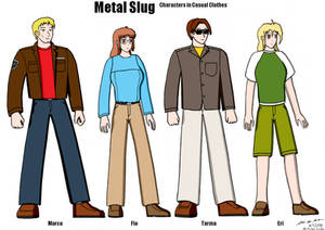 Metal Slug Civilian Clothing
