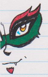 Acronix Margin Doodle by SkylarkStarflower