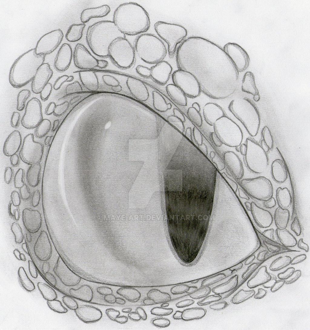 Toothless Eye by Maye-Art