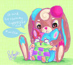 cry baby bat and big sister bunny