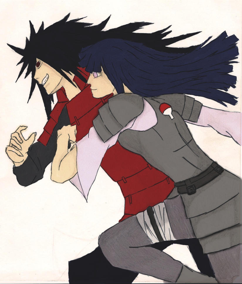 Madara and Hinata (edit and recolor) by Akeboshi0shiba on ...