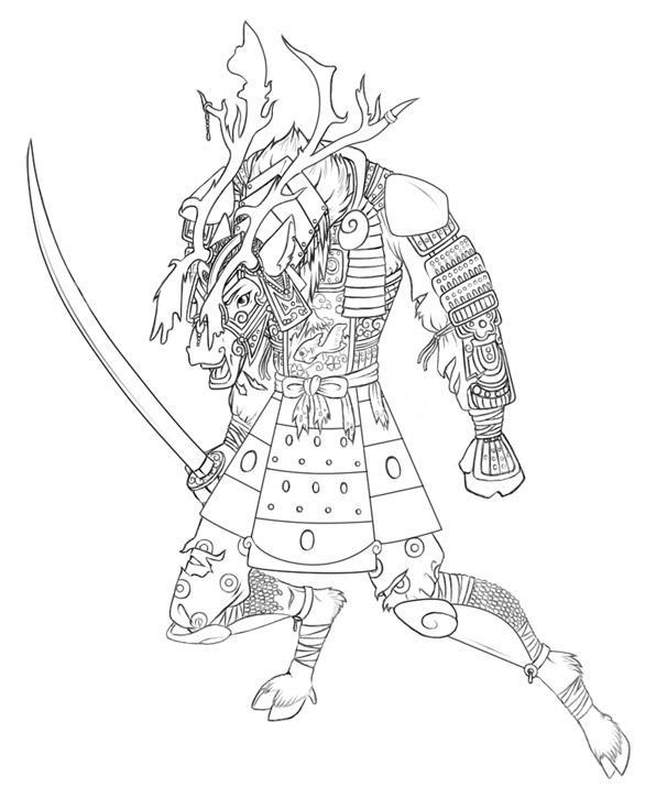 Samurai By Aerythes On Deviantart