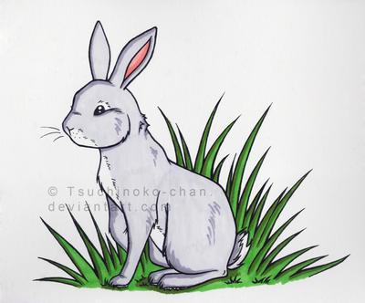 Copic Bunny by Tsuchinoko-chan