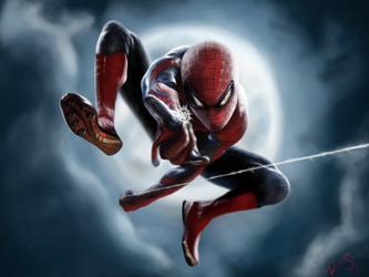 Spider-Man by grandsyeuxbleu