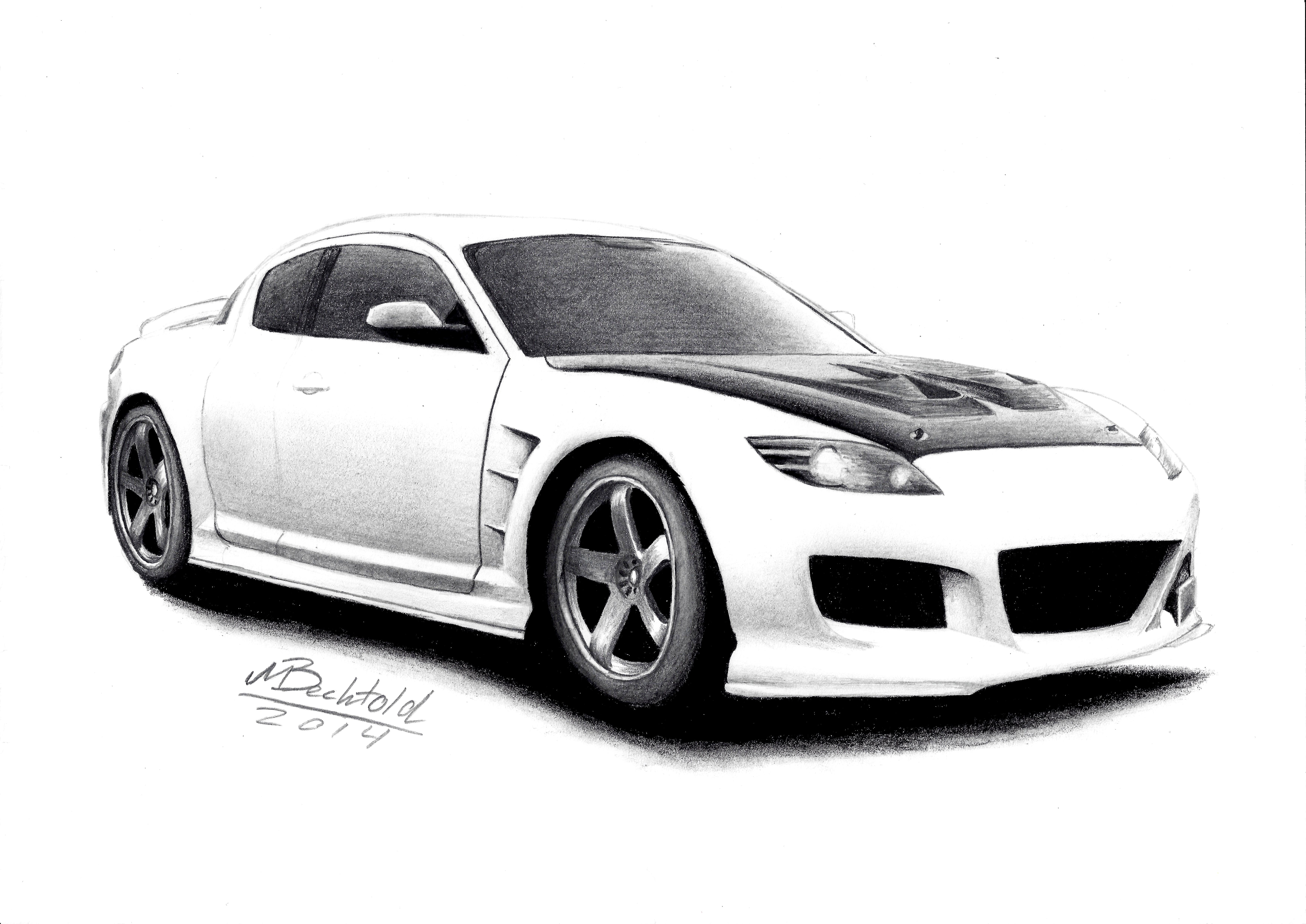 54370 Mazda Rx 7 Rocket Bunny Madmake in addition Mazda RX 8 JDM Tuned Tuning Realistic Car Drawing 467510419 additionally RX7 furthermore Watch further P1. on mazda rx 7 drawing