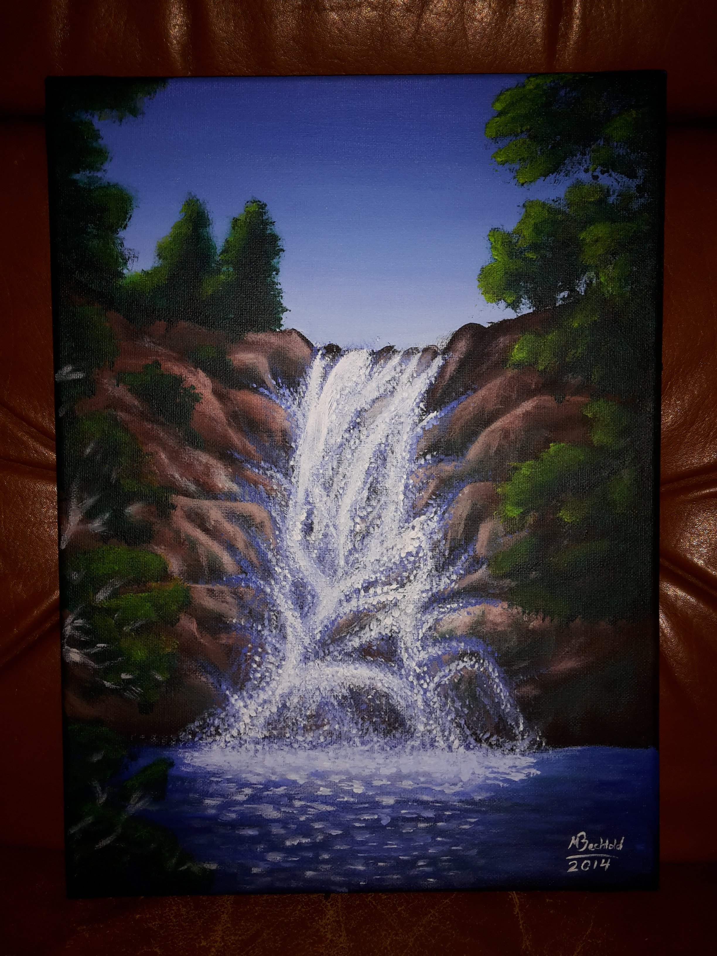 Painting Oil Realistic Nature Beginner