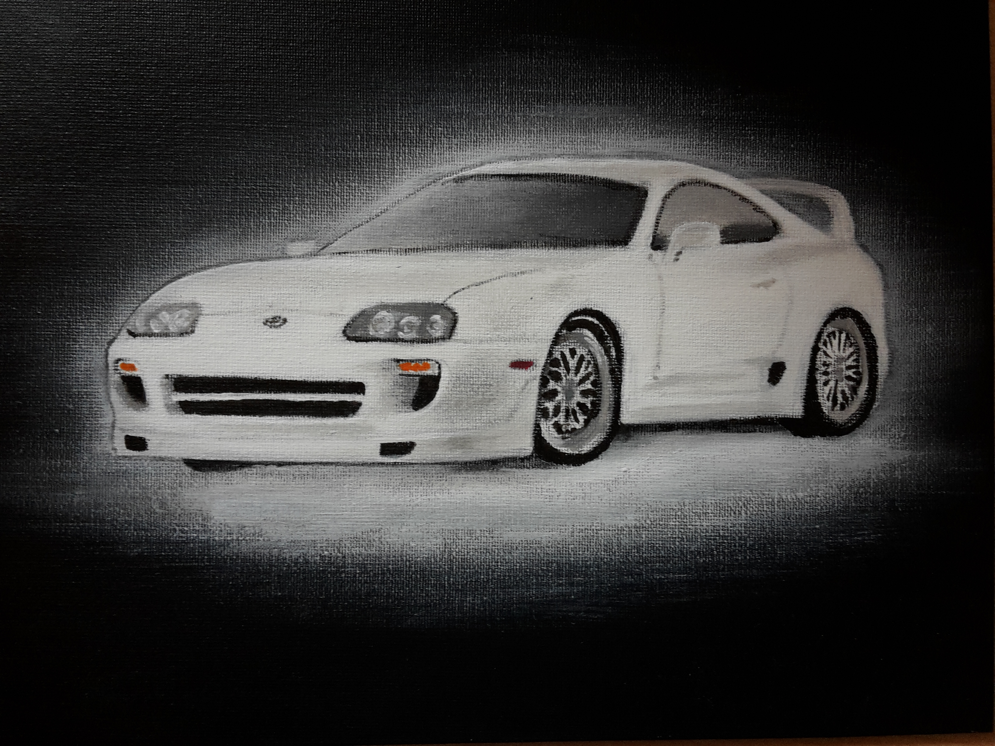 Paul Walker's Toyota Supra Fast and Furious 7 by ...