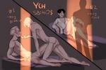 YCH 'Midnight Romance' AUCTION OPEN (2 SLOTS) by PehmenduS