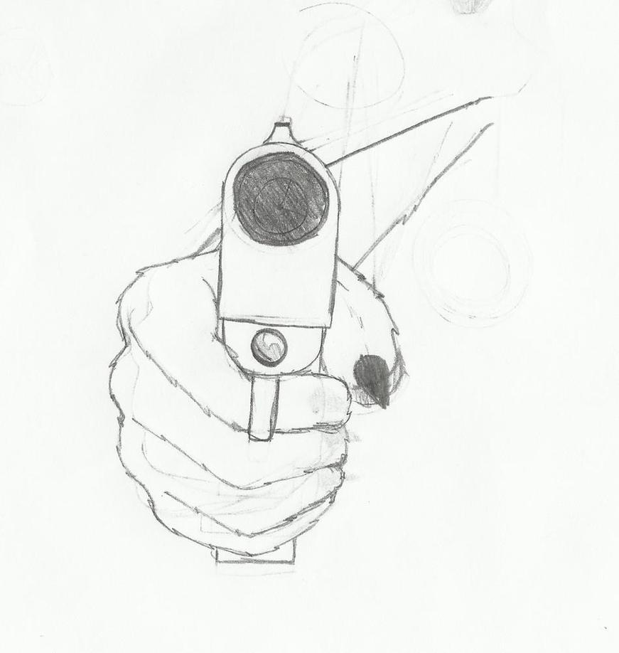 Furry pointing gun by Koki-Pochi on deviantART