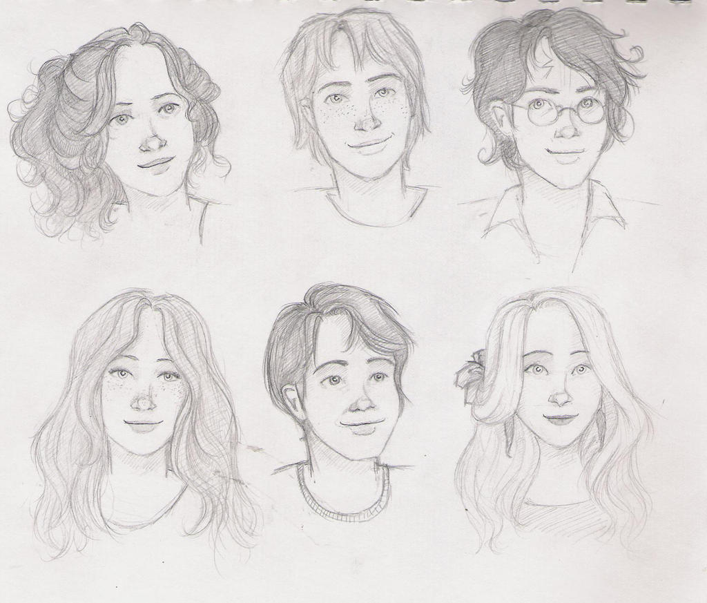 Pictures Of Harry Potter Characters Drawings Manga Kidskunst Info