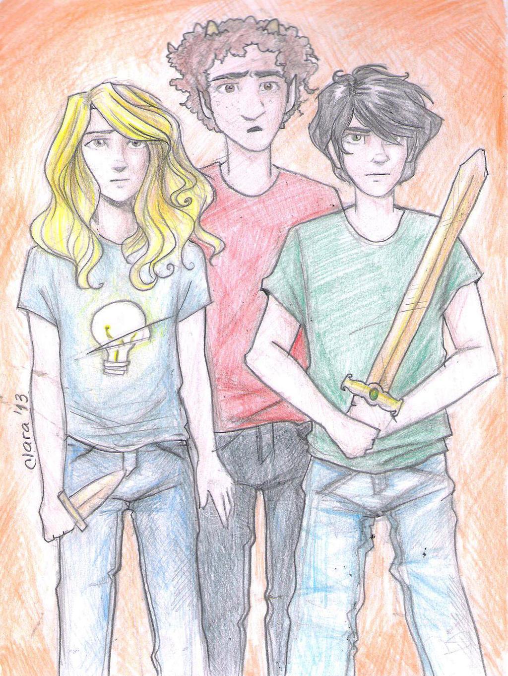 Percy Annabeth And Grover   Percy Jackson Grover And Annabeth
