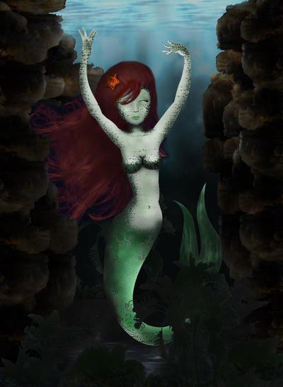 Mermaid pt 2 by Dominique1212