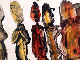 Art 2013 - Personajes by carbajo