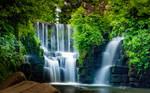 Penllergaer Waterfall by DavidCraigEllis