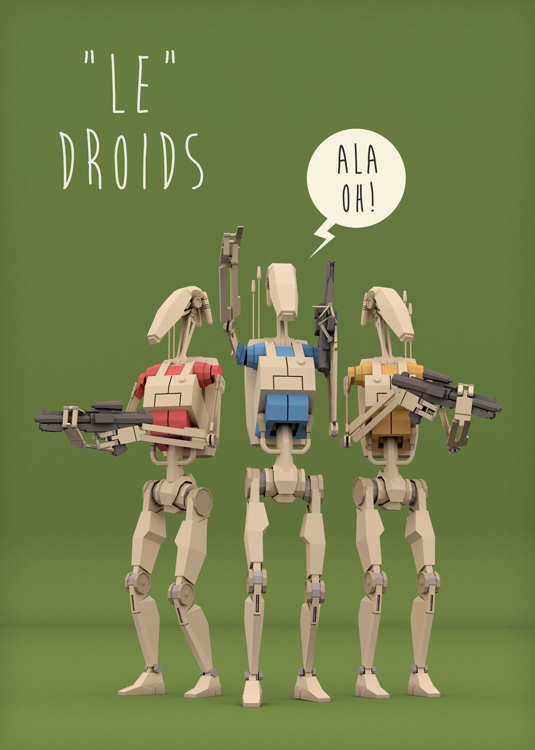 Le Droids by ehnoi