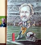Pittsburgh Steelers Fan Caricature