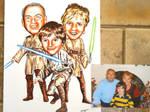 Star Wars Fan Caricatures