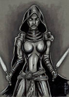 Asajj Ventress - Clone Wars by siebo7