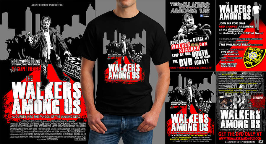 The Walkers Among Us - Red Carpet Merch by siebo7