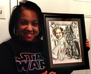 Star Wars Fan Caricature