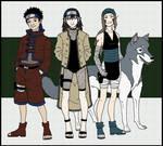 Asuma-kun, Aki, Kawa, Aoimaru