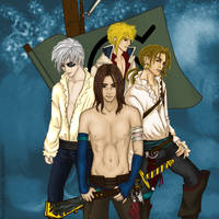 Naruto Pirates by KiterieAine