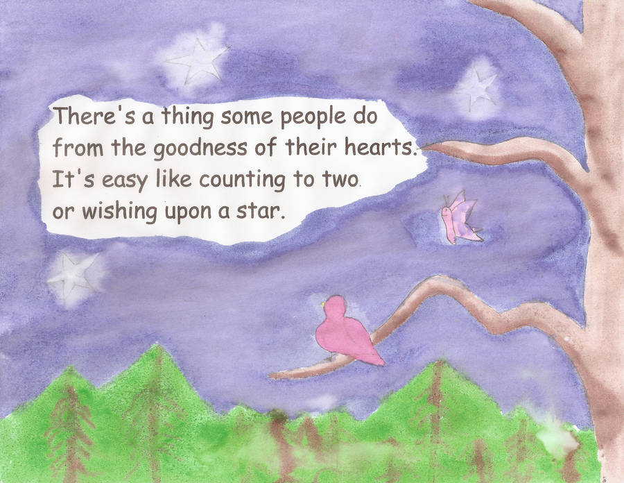 Random Acts of Kindness, a Children's Book, 01 by CastielLovesDean