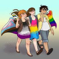 Sunny day #Pride