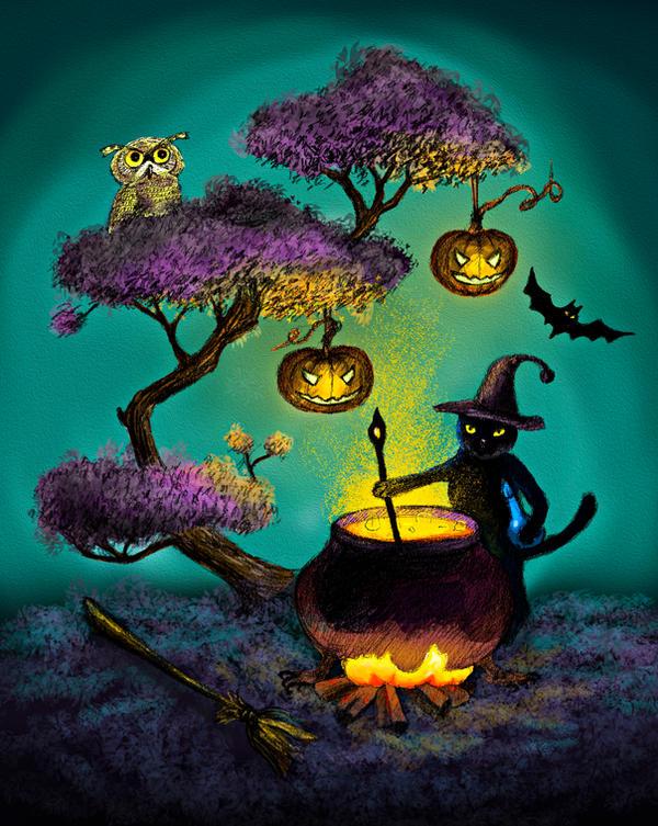 Halloween by AnnaShell
