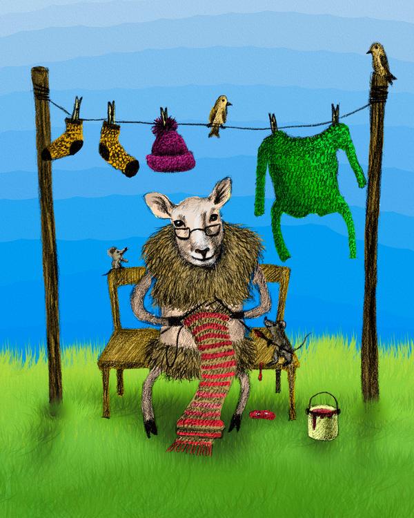Sheep by AnnaShell