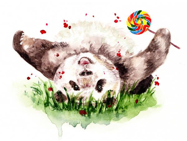 Panda by AnnaShell