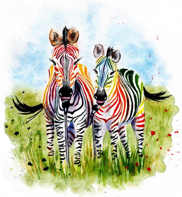 Zebra by AnnaShell