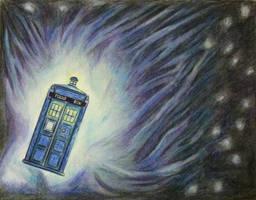 The TARDIS by DMC5X2