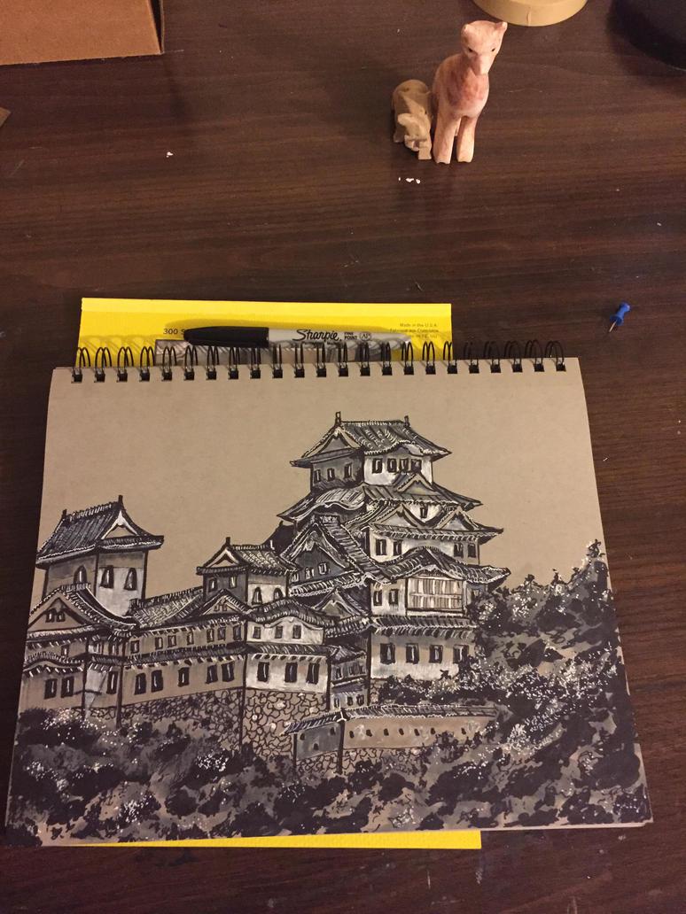 Himeji castle  by DMC5X2