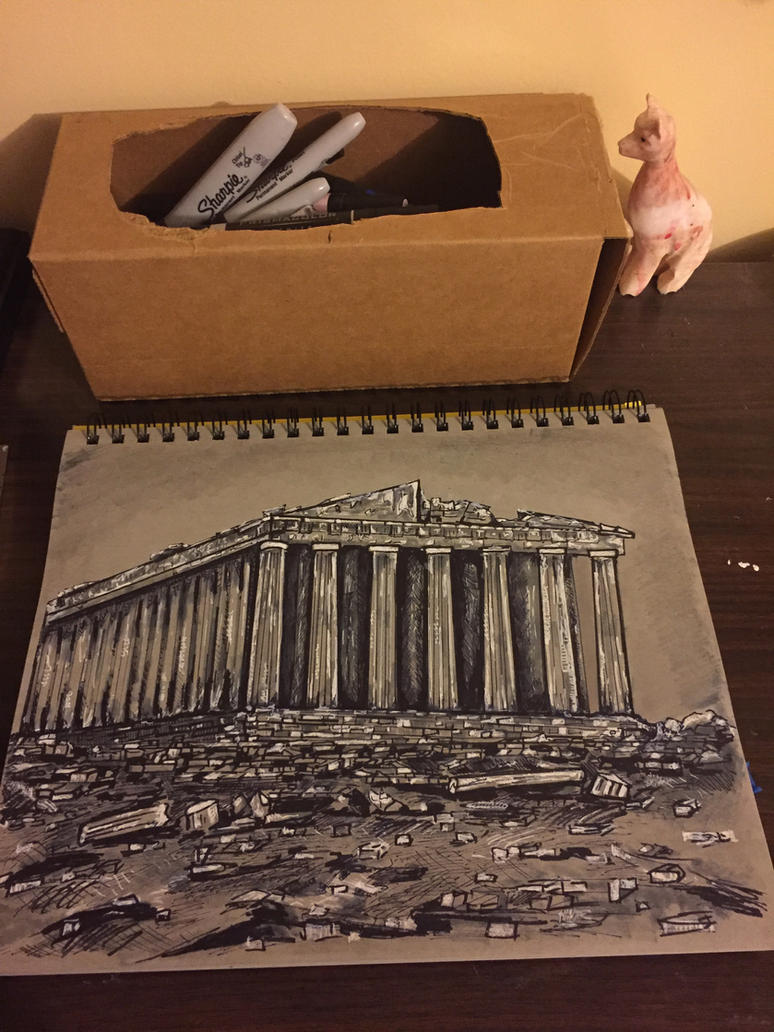 Greek ruin  by DMC5X2