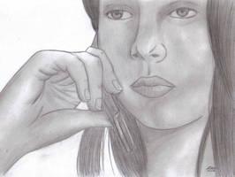 Julia Paz.. by edzay