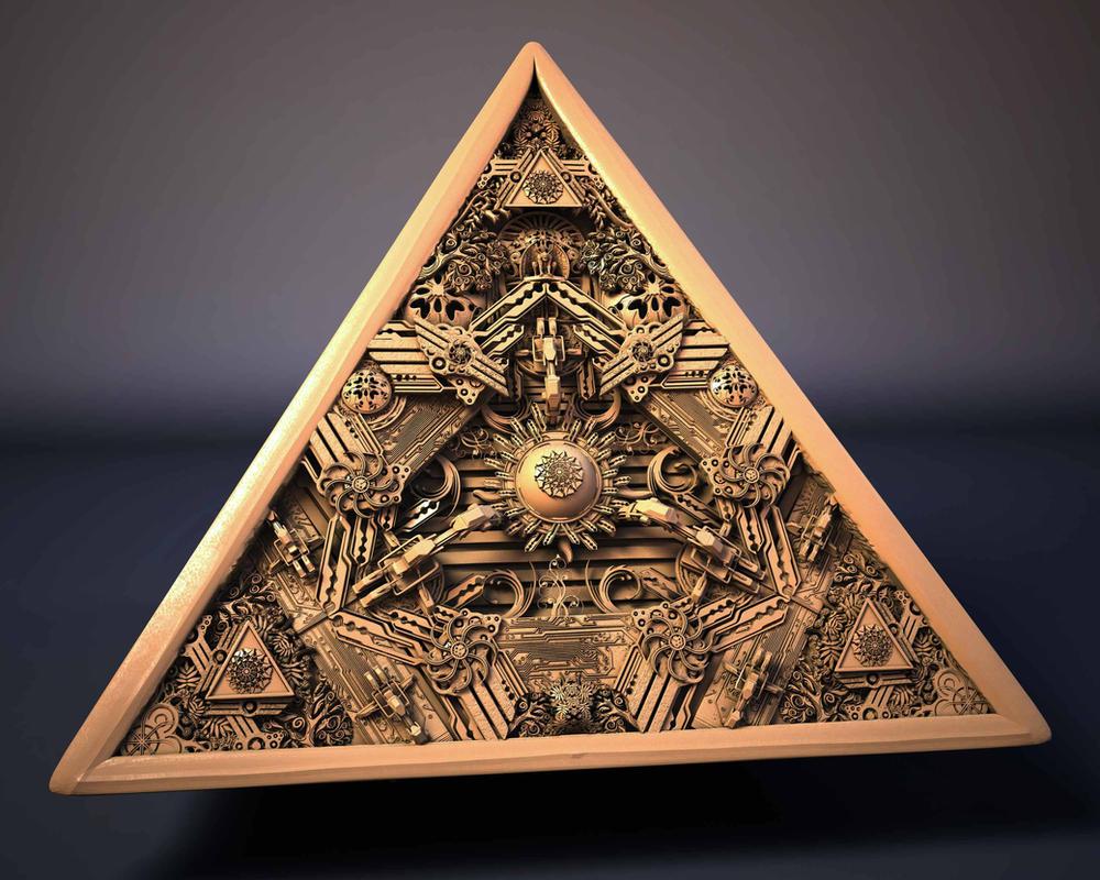 Pyramid by Darukin