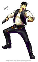 Keric as Han Solo by humbuged