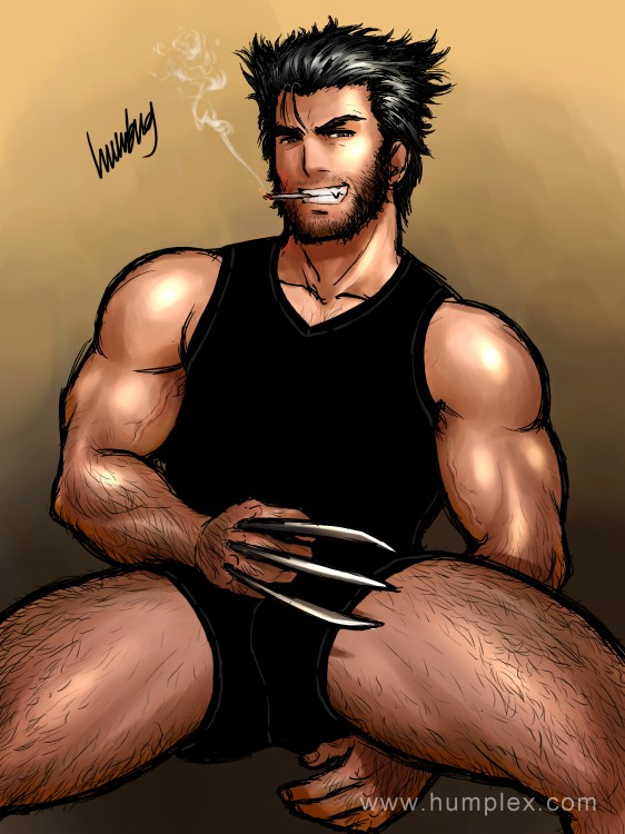 Wolverine Is Naughty by humbuged