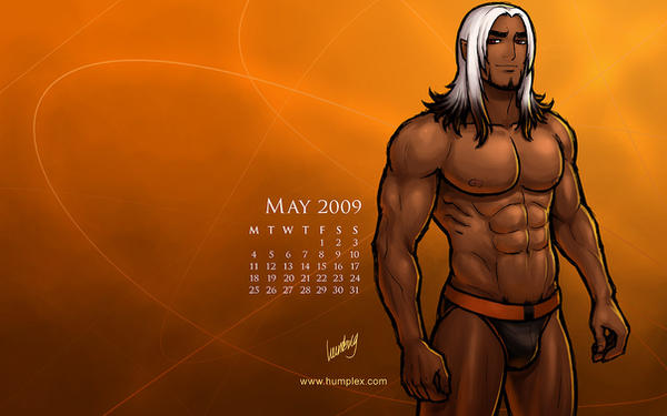 May 2009 Calendar, Zeoh by humbuged