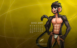 June 2009 Calendar, Arus by humbuged