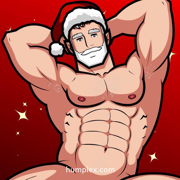 Flash Guy Santa Stud 2014 by humbuged